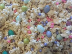 My easter family snack.